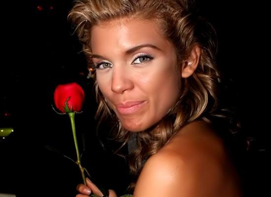 Annalynne McCord rose