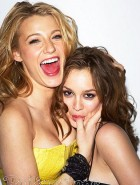 Blake Lively And Leighton Meester sucking
