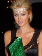 Paris Hilton green