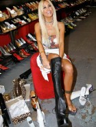Shauna Sand shopping