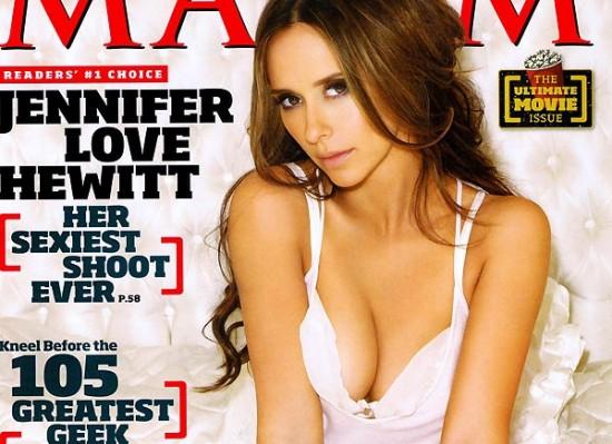 Jennifer Love Hewitt maxim