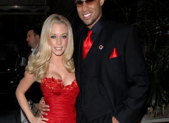 Kendra Wilkinson red dress