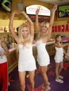 Shauna Sand dancing