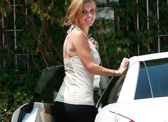 Audrina Patridge car