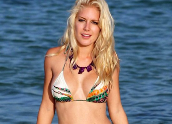 Heidi Montag bikini