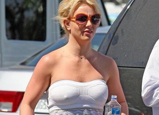 Britney Spears nipples
