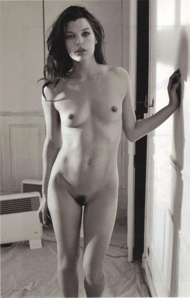 Milla Jovovich Nude From Magazine