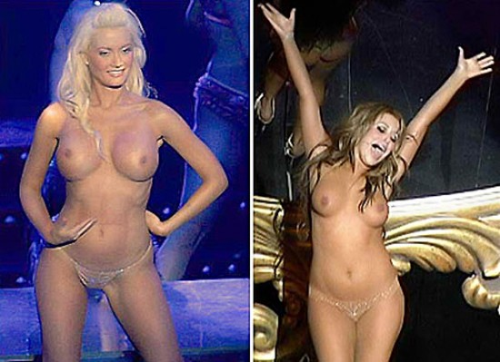 Holly Madison And Aubrey O'Day topless
