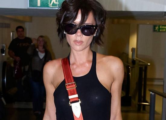 Victoria Beckham see thru