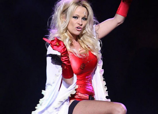 Pamela Anderson stripper