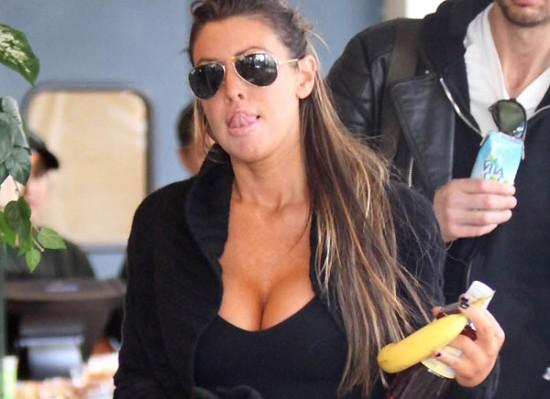 Rachel Uchitel cleavage