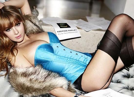 Keeley Hazell lingerie