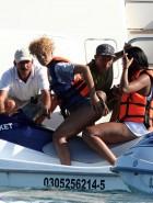 Rihanna black bikini