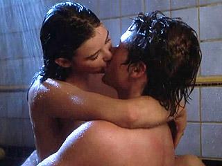 hot bathtub sex scene.