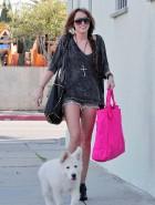 Miley Cyrus bootie heels