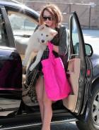 Miley Cyrus leggy