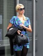 Paris Hilton public