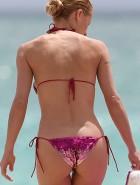 michelle hunziker hot ass in a bikini image best new car review in