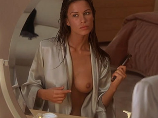 Rhona Mitra nude boobs