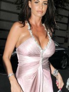 Katie Price tight dress