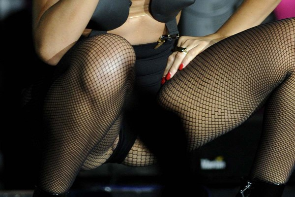 Rihanna naked crotch shot