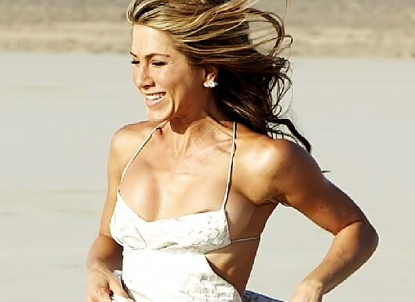 Jennifer Aniston Nipple Slip Big