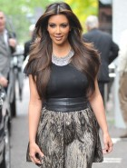 Kim Kardashian hard nipples