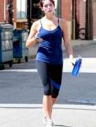 Ashley Greene gym