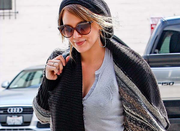 from Marley hilary duff nipples hard