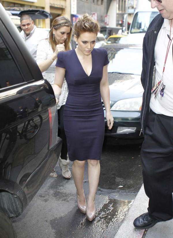 Hilary duff sexy tight dress agree, this