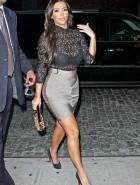 Kim Kardashian see through