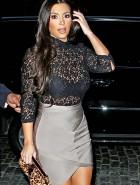 Kim Kardashian see thru