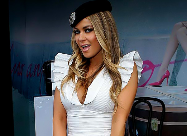 carmon electra nude. Carmen Electra was spotted celebrating Crown Oaks Day ...