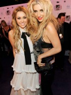 Miley Cyrus and Kesha