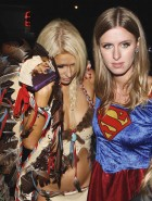 Paris Hilton nipples halloween