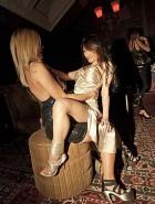 Tila Tequila lesbian lap dance