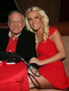 Crystal Harris and Hugh Hefner engaged