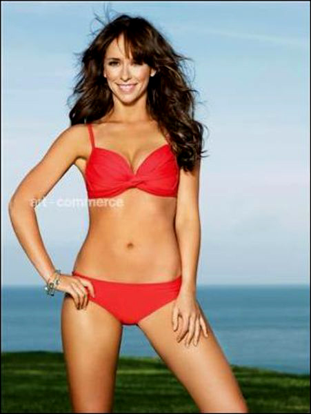 Jennifer Love Hewitt red bikini