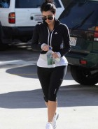 Kim Kardashian hot in spandex
