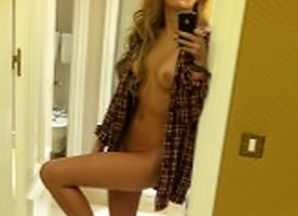 some pictures that float around the internet of Miley Cyrus naked in her