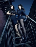 Kim Kardashian and Kourtney Kardashian promo pics