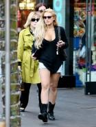 Lindsay Lohan cleavage
