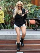 Lindsay Lohan denim