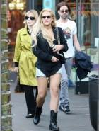 Lindsay Lohan hot legs