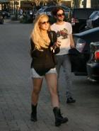 Lindsay Lohan legs