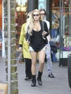 Lindsay Lohan short shorts