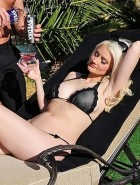 Holly Madison nipples