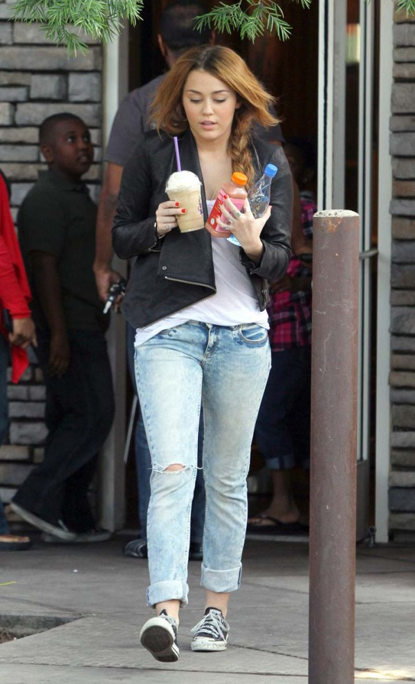 Miley Cyrus Tight Jeans