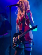 Taylor Momsen performs
