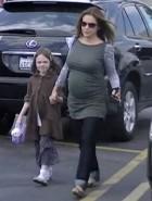 Alyssa Milano pregnant curves